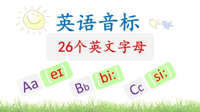 英语26字母创意手报