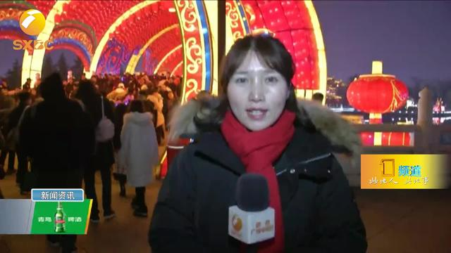 大型春节元宵节花灯会彩灯展 传统花灯灯光秀梦幻灯光节