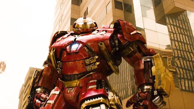 钢铁侠穿上最强的反浩克装甲,大战绿巨人浩克_网易视频