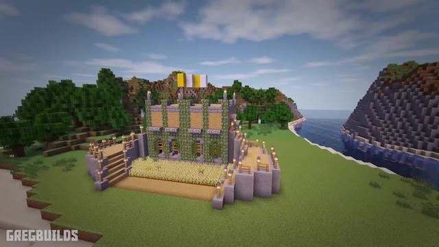 《我的世界》教你在最新版本中建造一个好看实用的城堡