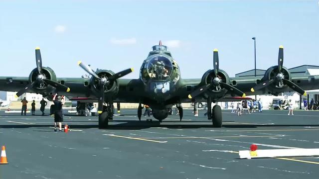 兰开斯特轰炸机与b17