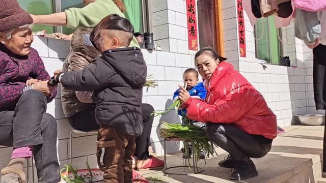韭菜肉水饺图片
