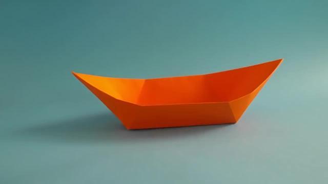十二种纸船的折法图解