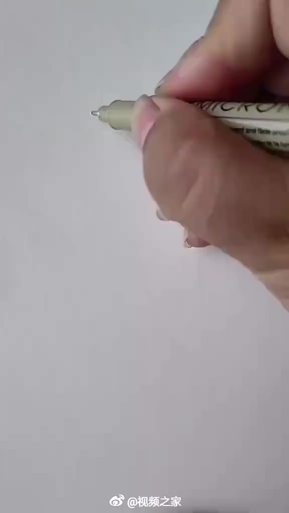 手的各种姿势画法