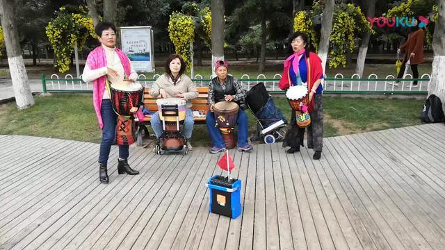 有激情!靖远县第三幼儿园《非洲鼓》表演