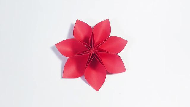 折纸王子教你折玫瑰花 教你折纸花-123文学网