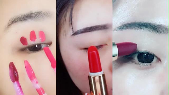 这些涂口红画眼影的美妆小技巧,让你在化... -爱酷网(ikoo8.com)