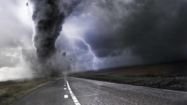 史上最强龙卷风,如果遇到龙卷风,应该怎么自救?