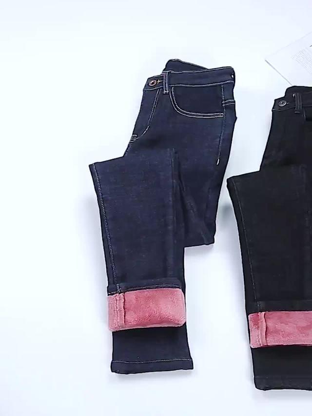 气质姐姐修身牛仔裤,潮流穿搭遮肉显身材,轻松提升女人气质
