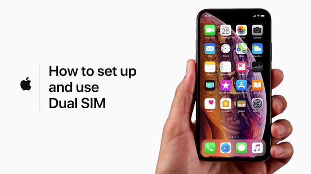 等了好久终于等到今天,iPhone确定支持双卡双待