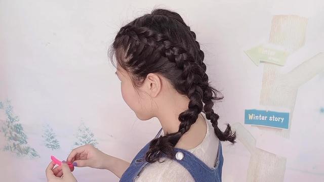 教你梳俏皮减龄的拳击辫,简单手残党妈妈也能学会的编发