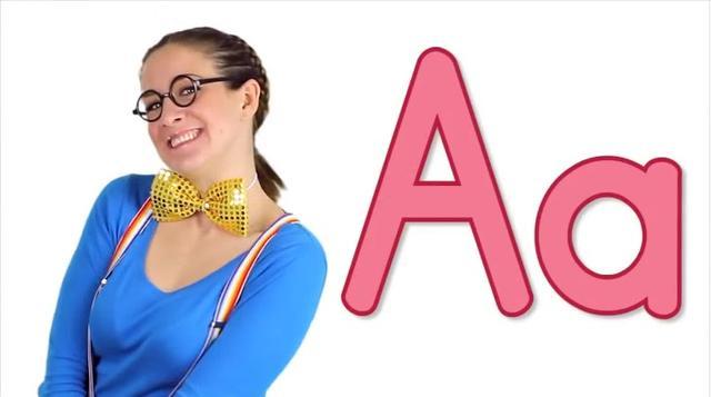 幼儿英语启蒙 英文字母 A#自然拼读 #英语启蒙 #亲子英语