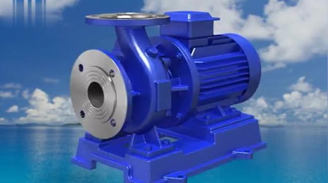 单级单吸离心泵结构图