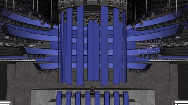 舞台灯光设计cad