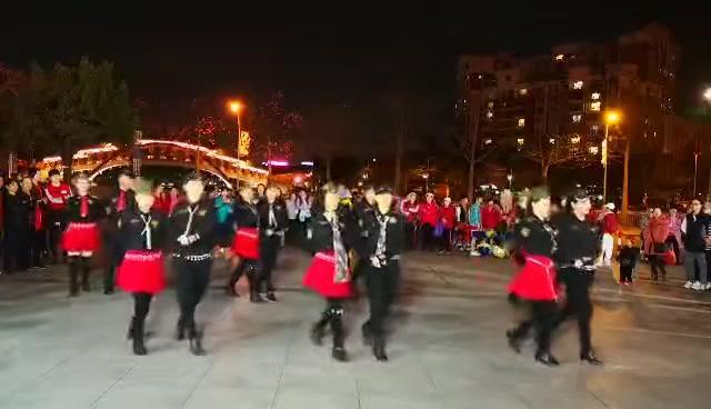 陶然亭水兵舞第二套精品教学 糖豆网马王组合