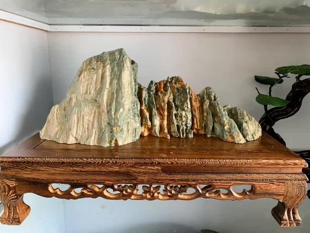 顶级九龙壁奇石图片