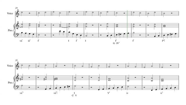 法国视唱 1A,钢琴伴奏谱 -1A-014 piano!