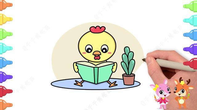 鸡的简笔画怎么画 鸡的简笔画步骤图解教程 - 万年历