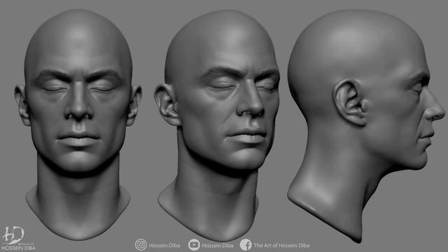 男士发型雕刻简单图案