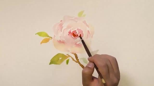 大师教你如何画玫瑰花,看着很简单!你会吗?