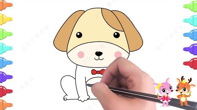 各种小动物的简笔画