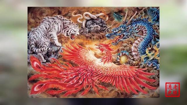 盘点中国上古传说中的十大神兽,在朱雀玄武之上... _手机网易网