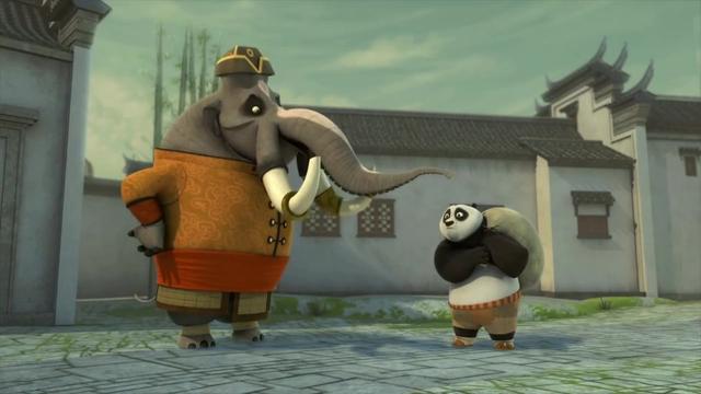 功夫熊猫:好可怜的平先生,第一次扮演午夜怪客,就被当场抓捕!