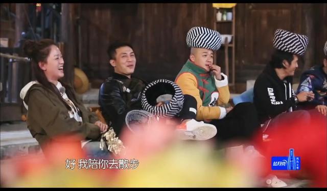 曹格包贝尔撮合杜淳陈乔恩,这一段有点甜,看了好几遍