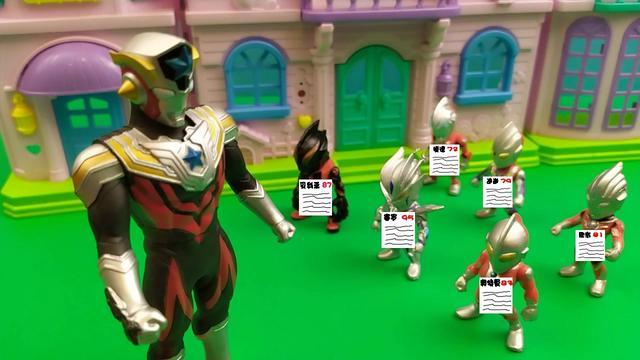 奥特曼玩具剧场:小迪迦自信满满,但考试结果却不理想