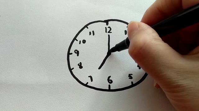 小学生钟表设计创意画