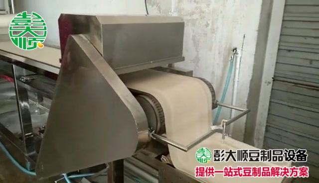 厂家热销江苏金坛市千张豆腐皮机器,小型... -济宁豆制品加工设备