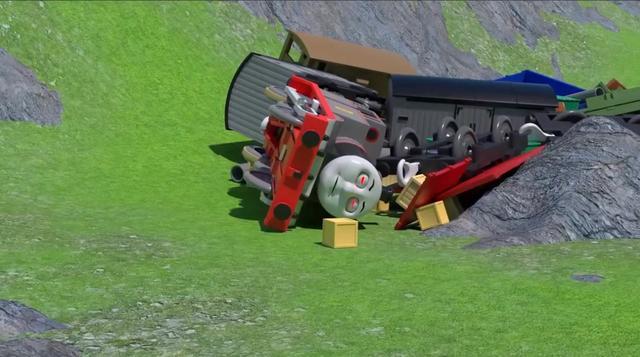 托马斯和他的朋友们:小火车们改头换面 挑战新轨道新高度