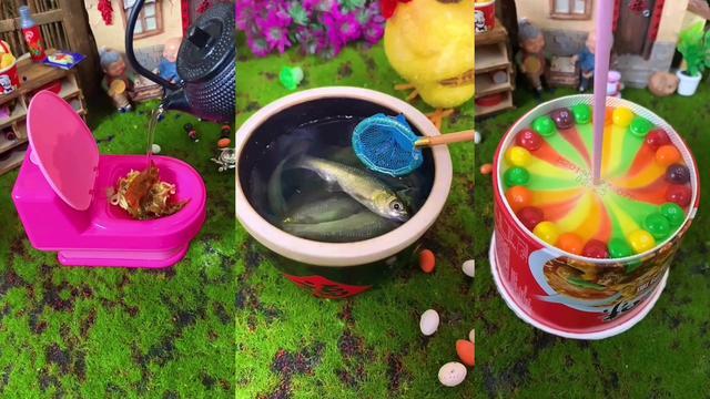微型美食:迷你厨房系列,泡面创意新吃法,你一定没试过!
