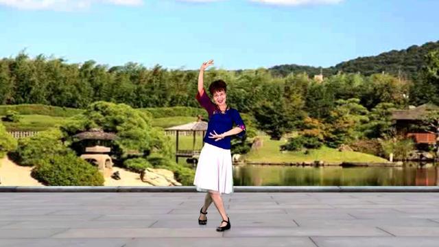 广场舞《相伴一生》一生幸福,甜蜜温馨,好听更好看!