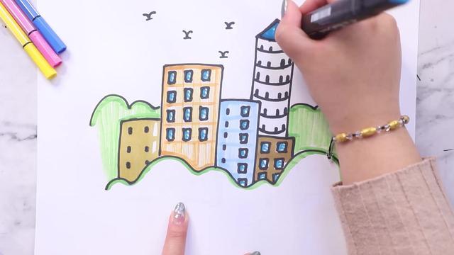 高楼大厦的意思_拼音是什么_成语解释_造句_近义词_反义词_汉辞网