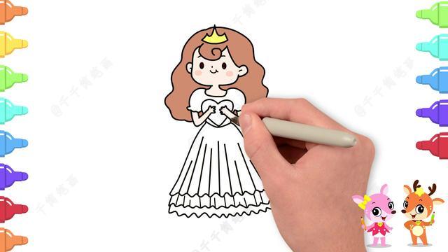 简笔画卡通人物可爱