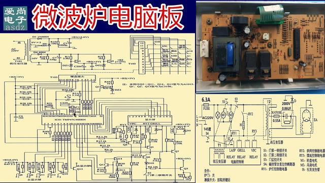 微波炉电路图