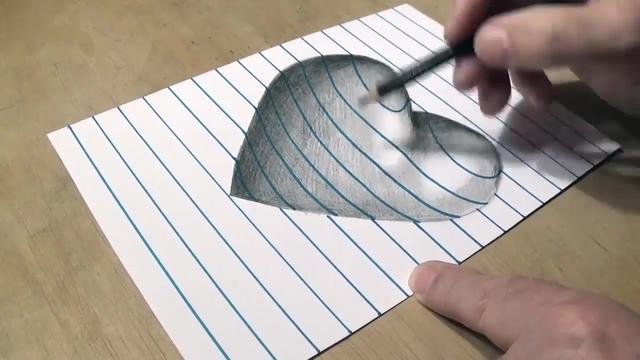 3分钟看完画3D画全过程 你学会了吗