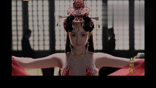 王昭君:杨幂这古装跳舞舞蹈, 竟然跳的这么美,真的太漂亮了!