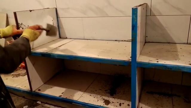 铝合金夹瓷砖整体橱柜多少钱一米