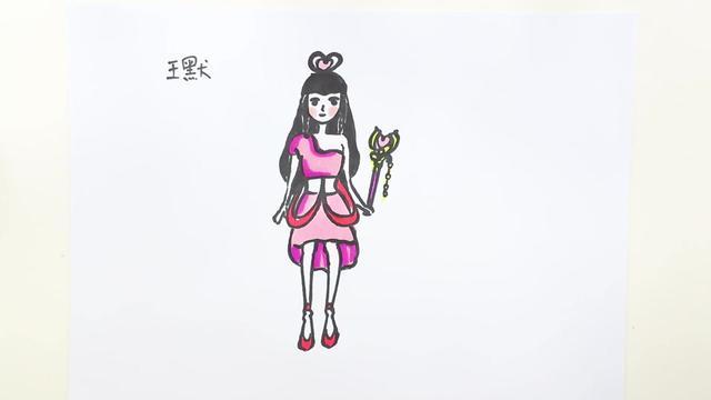 可爱的仙女简笔画要怎么画_可爱的仙女简笔画原... - 5068儿童网