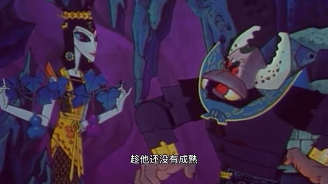 童年经典葫芦娃:打酱油的蝎子精,蛇精是怎么看上他的