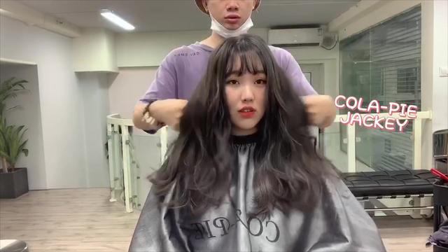 长头发发尾大卷发型图片 另类时尚卷发发... _西子美发网(手机版)