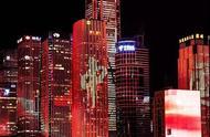 各大城市上演迎中秋绚丽夜景灯光秀