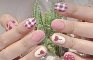 适合冬天的甜美系花卉美甲,超高颜值让人心花怒放!