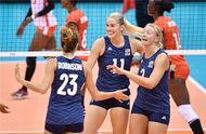 净胜27分!中国女排最强对手打疯了,世界杯首战3-0横扫非洲冠军