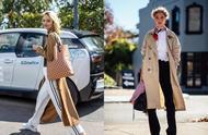 秋天女人都穿的风衣,想要搭配的更时髦,窍门全在这里!