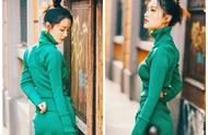米兰时装周上又出亮点,李沁造型妖娆,马思纯风格大变!
