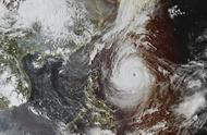 17级超强台风!高清卫星图看台风潭美:巨大台风眼如地球之