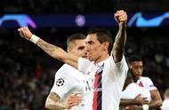 巴黎3-0皇马,天使2进球1策动,那张黄牌也证明他是老大